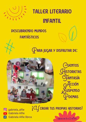 ¡Atención chicos! En mayo comienza el taller de literatura infantil en la biblioteca