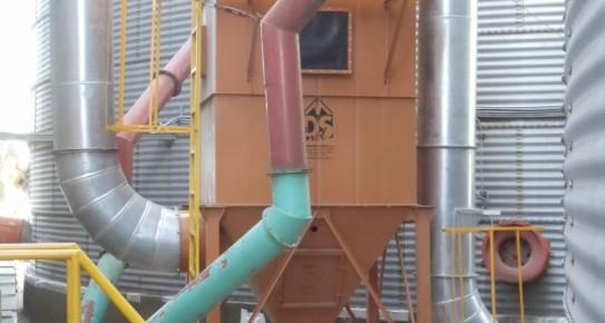 Filtros de Mangas Pulso de Aire Comprimido