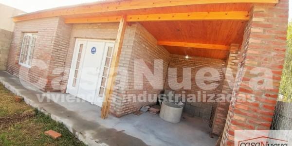 vivienda industrializada MODELO BASICO A CON GALERIA