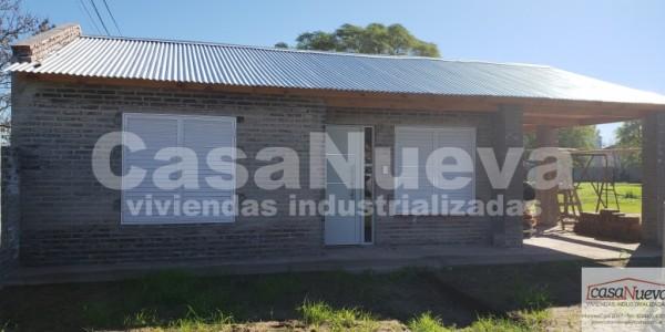 vivienda industrializada MODELO SILVER I CON GALERIA