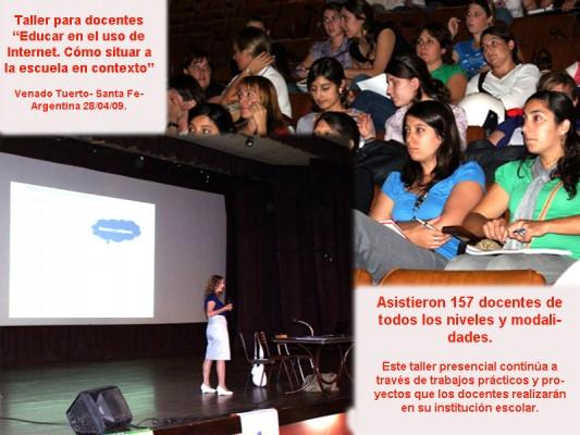 Videos del taller para docentes -28 de Abril de 2009-