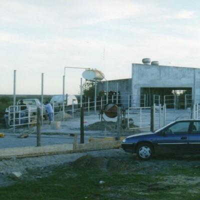 Agramin SA. Est. La Vigilancia. Refacci�n Recibo leche a Planta de orde�o 2 �- Santa Elena ( Entre R�os)