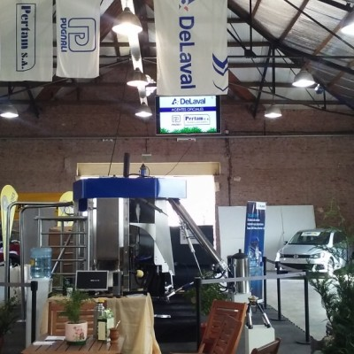 Expo Venado 2017 Presentación Ordeño Robotizado