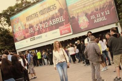¡Gabriela Alfie en el Club Media Fest!