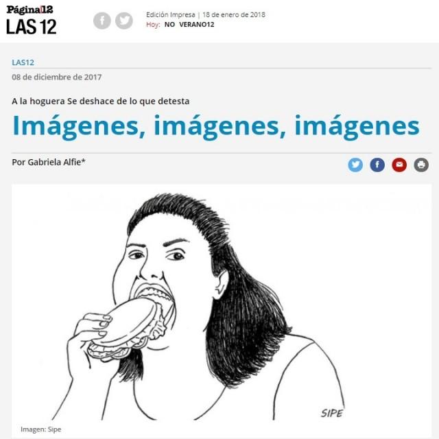 Imágenes, imágenes, imágenes - Página12 - Por Gabriela Alfie