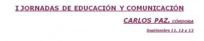 Jornadas de educación docentes Carlos Paz-Cba.