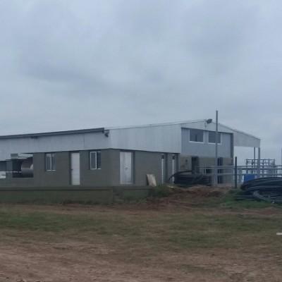 Las Becerras SA - Nueva Planta de Ordeño - Tambo 78 - Totoras (Santa Fe)