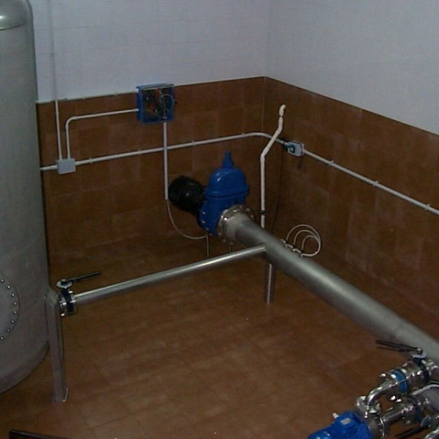 Municipalidad Corral de Bustos. Planta de Bombeo automatizada Agua Potable Cap: 45Lts/segundo.