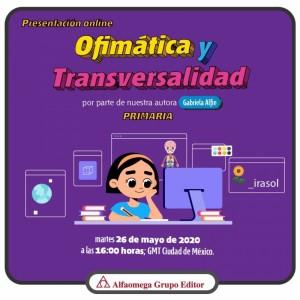Presentación online: Ofimática y transversalidad en Aprender y Crear con Desafíos digitales
