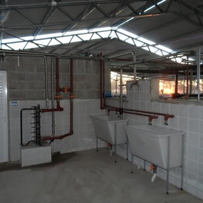 Raul Catta - Establecimiento El Cencerro - Sala de Orde�o para Salida R�pida  2 x 22 linea baja