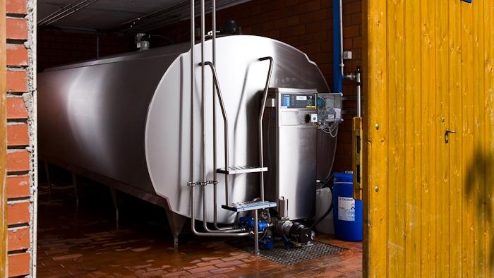 Refrigeración y almacenamiento de la leche, PUGNALI AGROINDUSTRIAL, venado tuerto