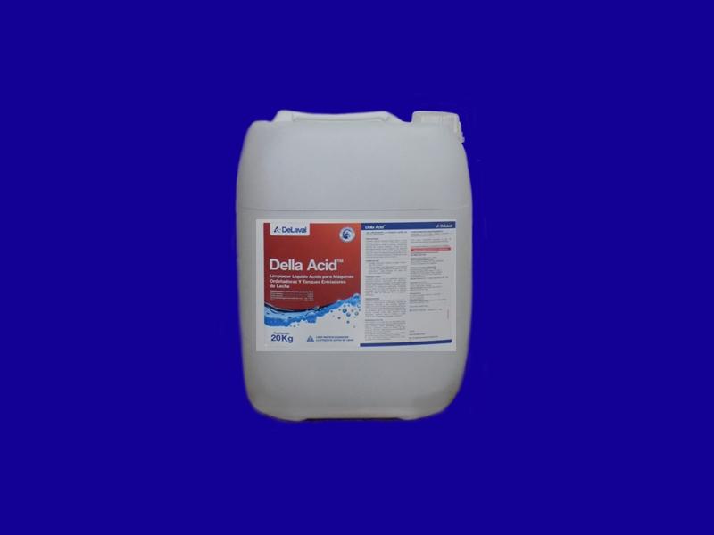 Limpiador Liquido Acido para Maquinas Ordeñadoras y Tanques Enfriadores de Leche 20 Kg, PERTAM  S.A., venado tuerto