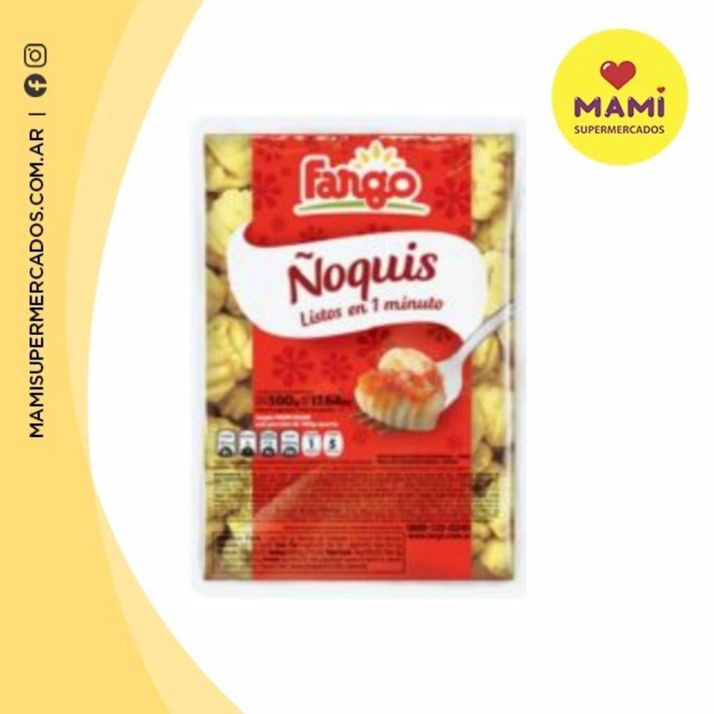 ÑOQUIS FARGO X 500 GR, MAMI SUPERMERCADOS, venado tuerto