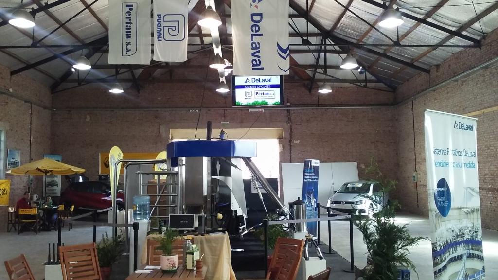 Expo Venado 2017 Presentación Ordeño Robotizado, PUGNALI AGROINDUSTRIAL, venado tuerto