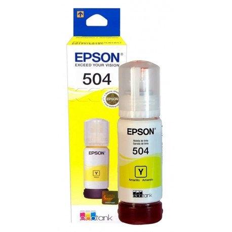 Tinta Original Epson T504 Yellow, DIMENSION COMERCIAL SRL, venado tuerto
