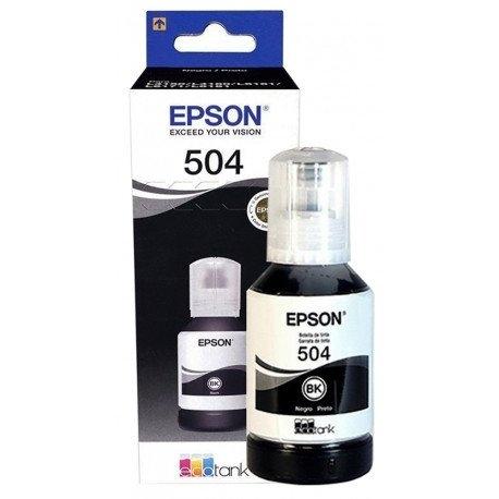 Tinta Original Epson T504 Black, DIMENSION COMERCIAL SRL, venado tuerto