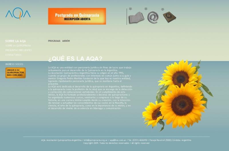 www.quiropraxia.org.ar , Fundacion Quiropractica Argentina, Rosario