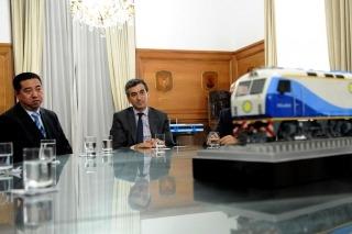Una empresa china anunció que fabricará trenes en Argentina., Semanario La Nueva Voz Regional, teodelina