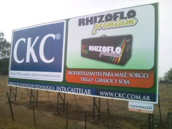 CARTEL CKC, GRUPO ZUCCARELLA, venado tuerto