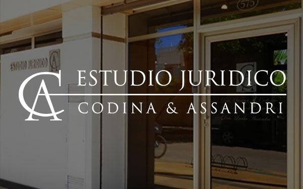 DR. BERNARDO ASSANDRI, ESTUDIO JURIDICO CODINA & ASSANDRI, venado tuerto