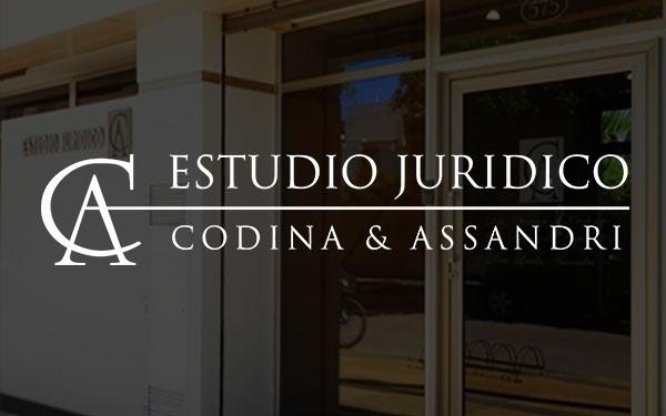 DRA. SUSANA T. CODINA, ESTUDIO JURIDICO CODINA & ASSANDRI, venado tuerto