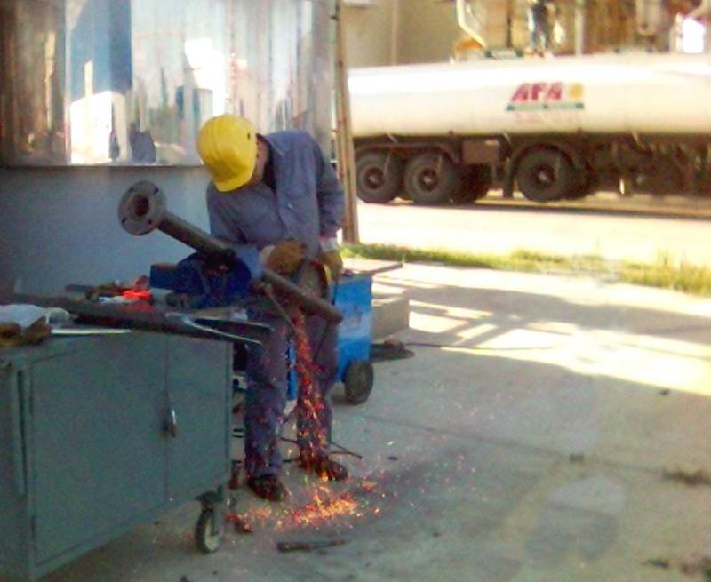 REFORMA DE CANERIAS, Emir Metal-Inox, venado tuerto