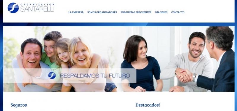 DISENO WEB SANTARELLI SEGUROS, Queres formar parte de nuestro equipo devenado.com?, venado tuerto