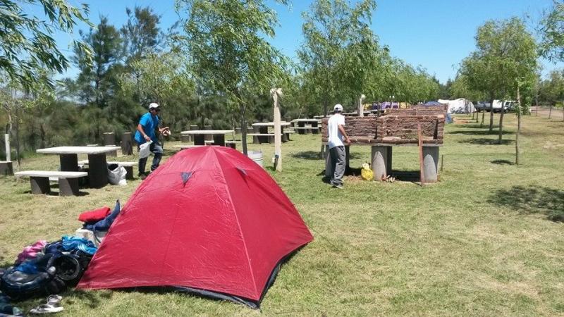 PARRILLEROS, CAMPING MELINCUE, Melincue