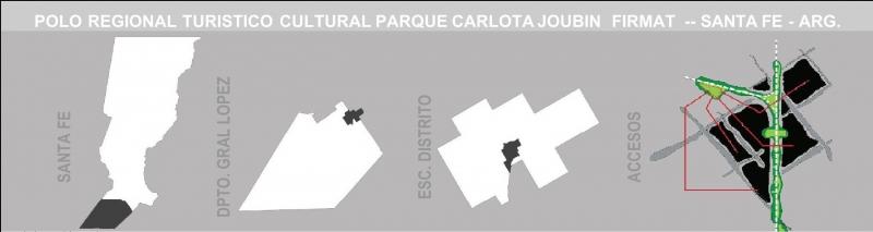 PARQUE CARLOTA JOUBIN - CONCURSO, Arquitecto Mauricio Pedra - Construcciones MP, venado tuerto