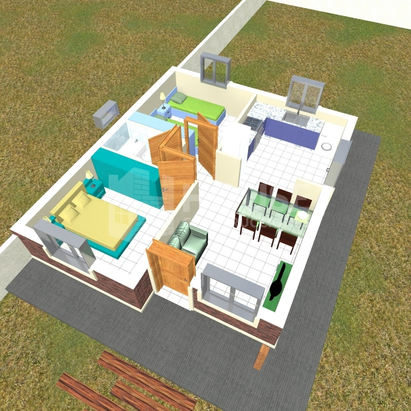 MODELO 45 M, House Construcciones, venado tuerto