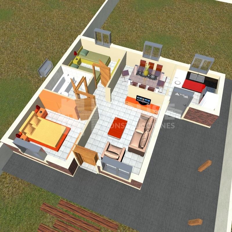 MODELO 72 M, House Construcciones, venado tuerto