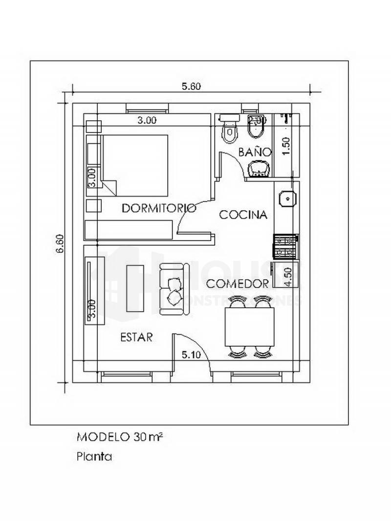 MODELO 30 M, House Construcciones, venado tuerto