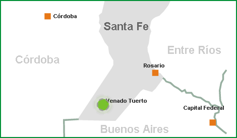 UBICACIÓN, LASS-SA, Venado Tuerto