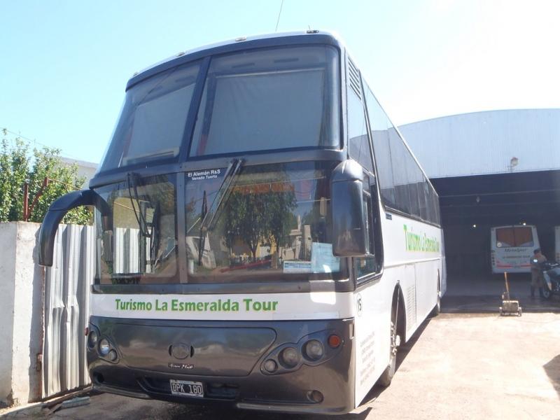 TOUR 45 PERSONAS, LA ESMERALDA Turismo y Servicio Empresarial., venado tuerto