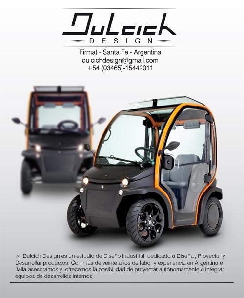 MINICAR ELECTRICO, Dulcich Design - Diseño Industrial, Firmat