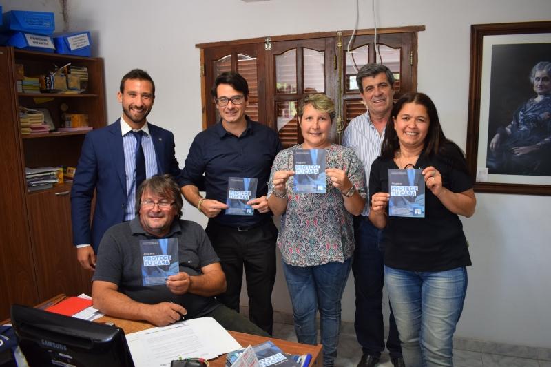 PIERONI VISITÓ AARÓN CASTELLANOS, Primero la Noticia, venado tuerto