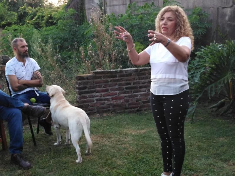 SAN EDUARDO, Maria Cristina Gomez, maria teresa
