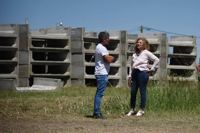 MARÍA TERESA DEBERÁ FINALIZAR CON FONDOS PROPIOS OBRAS EN UN IMPORTANTE CANAL, Cristina Gomez, DEPARTAMENTO GENERAL LOPEZ