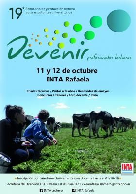 19º SEMINARIO DE PRODUCCIóN LECHERA PARA ESTUDIANTES UNIVERSITARIOS, PERTAM  S.A., venado tuerto